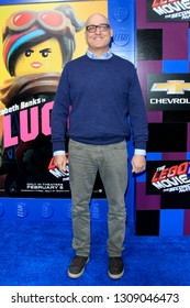 """LOS ANGELES - FEB 2:  Mike Mitchell at """"The Lego Movie 2: The Second Part"""" Premiere at the Village Theater on February 2, 2019 in Westwood, CA"""