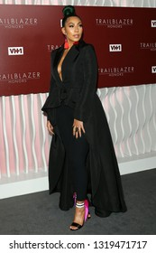 LOS ANGELES - FEB 20:  Bridget Kelly at VH1 Trailblazer Honors at the Wilshire Ebell Theatre on February 20, 2019 in Los Angeles, CA