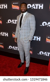 "LOS ANGELES - FEB 20:  Curtis Jackson at ""The Oath"" Season 2 Screening Event  at the Paloma on February 20, 2019 in Hollywood, CA"