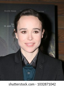 """LOS ANGELES - FEB 20:  Ellen Page at """"The Cured"""" LA Screening at Sunset 5 Theater on February 20, 2018 in West Hollywood, CA"""
