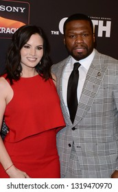 "LOS ANGELES - FEB 20:  Katrina Law, Curtis Jackson at ""The Oath"" Season 2 Screening Event  at the Paloma on February 20, 2019 in Hollywood, CA"