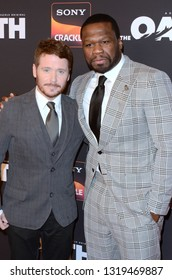 "LOS ANGELES - FEB 20:  Kevin Connolly, Curtis Jackson at ""The Oath"" Season 2 Screening Event  at the Paloma on February 20, 2019 in Hollywood, CA"