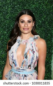 LOS ANGELES - FEB 20:  Lea Michele at the CFDA Variety and WWD Runway to Red Carpet at Chateau Marmont Hotel on February 20, 2018 in West Hollywood, CA