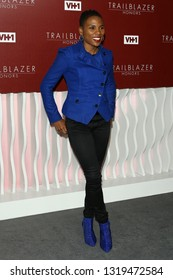 LOS ANGELES - FEB 20:  Luvvie Ajayi at VH1 Trailblazer Honors at the Wilshire Ebell Theatre on February 20, 2019 in Los Angeles, CA