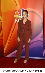 LOS ANGELES - FEB 20:  Michaela McManus at the NBC's Los Angeles Mid-Season Press Junket at the NBC Universal Lot on February 20, 2019 in Universal City, CA