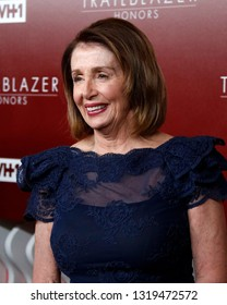 LOS ANGELES - FEB 20:  Nancy Pelosi at VH1 Trailblazer Honors at the Wilshire Ebell Theatre on February 20, 2019 in Los Angeles, CA
