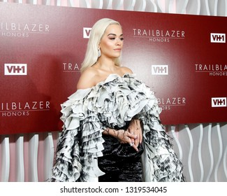 LOS ANGELES - FEB 20:  Rita Ora at VH1 Trailblazer Honors at the Wilshire Ebell Theatre on February 20, 2019 in Los Angeles, CA