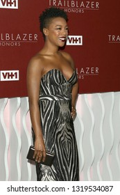 LOS ANGELES - FEB 20:  Samira Wiley at VH1 Trailblazer Honors at the Wilshire Ebell Theatre on February 20, 2019 in Los Angeles, CA