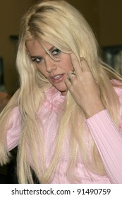 LOS ANGELES - FEB 21: Actress Anna Nicole Smith poses in Los Angeles, California on February 21, 2005.