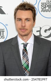 LOS ANGELES - FEB 21:  Dax Shepard at the 30th Film Independent Spirit Awards at a tent on the beach on February 21, 2015 in Santa Monica, CA