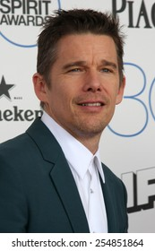 LOS ANGELES - FEB 21:  Ethan Hawke at the 30th Film Independent Spirit Awards at a tent on the beach on February 21, 2015 in Santa Monica, CA