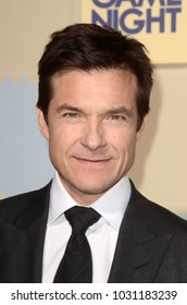 """LOS ANGELES - FEB 21:  Jason Bateman at the """"Game Night"""" Premiere at the TCL Chinese Theater IMAX on February 21, 2018 in Los Angeles, CA"""