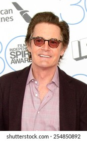 LOS ANGELES - FEB 21:  Kyle MacLachlan at the 30th Film Independent Spirit Awards at a tent on the beach on February 21, 2015 in Santa Monica, CA