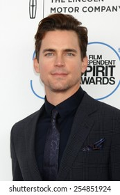 LOS ANGELES - FEB 21:  Matt Bomer at the 30th Film Independent Spirit Awards at a tent on the beach on February 21, 2015 in Santa Monica, CA