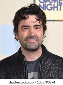 "LOS ANGELES - FEB 21:  Ron Livingston arrives for the ""Game Night"" Los Angeles Premiere on February 21, 2018 in Hollywood, CA"