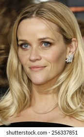 LOS ANGELES - FEB 22:  Reese Witherspoon at the Vanity Fair Oscar Party 2015 at the Wallis Annenberg Center for the Performing Arts on February 22, 2015 in Beverly Hills, CA