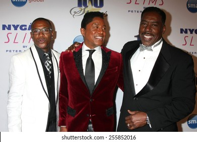 LOS ANGELES - FEB 22:  Tommy Davidson, Jermaine Jackson, Ernie Hudson at the Night of 100 Stars Oscar Viewing Party at the Beverly Hilton Hotel on February 22, 2015 in Beverly Hills, CA