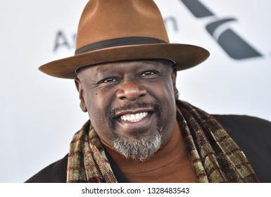 LOS ANGELES - FEB 23:  Cedric the Entertainer arrives for the 2019 Film Independent Spirit Awards on February 23, 2019 in Santa Monica, CA