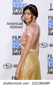 LOS ANGELES - FEB 23:  Gemma Chan at the 2019 Film Independent Spirit Awards on the Beach on February 23, 2019 in Santa Monica, CA