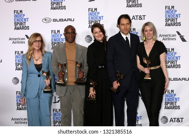 "LOS ANGELES - FEB 23:  ""If Beale Street Could Talk"" Producers at the 2019 Film Independent Spirit Awards on the Beach on February 23, 2019 in Santa Monica, CA"