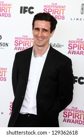 LOS ANGELES - FEB 23:  James Ransone attends the 2013 Film Independent Spirit Awards at the Tent on the Beach on February 23, 2013 in Santa Monica, CA