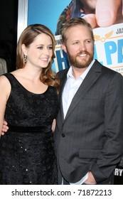 Jenna Fischer Husband Lee Kirk Images Stock Photos Vectors Shutterstock