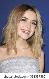 LOS ANGELES - FEB 23:  Kiernan Shipka at the 18th Costume Designers Guild Awards at the Beverly Hilton Hotel on February 23, 2016 in Beverly Hills, CA