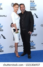 LOS ANGELES - FEB 23:  Lala Kent and Randall Emmett arrives for the 2019 Film Independent Spirit Awards on February 23, 2019 in Santa Monica, CA