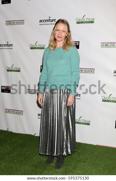 LOS ANGELES - FEB 23:  Paula Malcomson at the 12th Annual Oscar Wilde Awards at Bad Robot Studios on February 23, 2017 in Santa Monica, CA