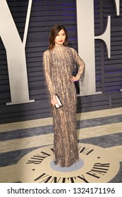 LOS ANGELES - FEB 24:  Gemma Chan at the 2019 Vanity Fair Oscar Party on the Wallis Annenberg Center for the Performing Arts on February 24, 2019 in Beverly Hills,