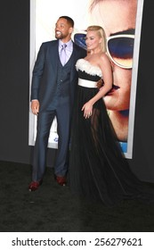 """LOS ANGELES - FEB 24:  Margot Robbie, Will Smith at the """"Focus"""" Premiere at  TCL Chinese Theater on February 24, 2015 in Los Angeles, CA"""