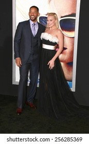 "LOS ANGELES - FEB 24:  Margot Robbie, Will Smith at the ""Focus"" Premiere at  TCL Chinese Theater on February 24, 2015 in Los Angeles, CA"