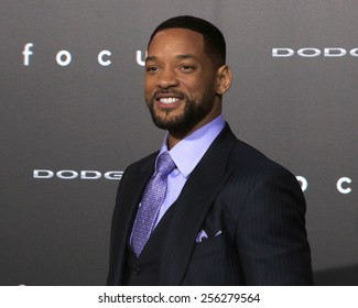 """LOS ANGELES - FEB 24:  Will Smith at the """"Focus"""" Premiere at  TCL Chinese Theater on February 24, 2015 in Los Angeles, CA"""