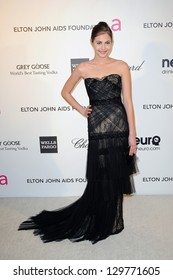 LOS ANGELES - FEB 24:  Willa Holland arrives at the Elton John Aids Foundation 21st Academy Awards Viewing Party at the West Hollywood Park on February 24, 2013 in West Hollywood, CA