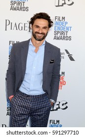 LOS ANGELES - FEB 25:  Ivan Sanchez at the 32nd Annual Film Independent Spirit Awards at Beach on February 25, 2017 in Santa Monica, CA