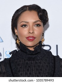 LOS ANGELES - FEB 25:  Kat Graham arrives for the Hollywood Beauty Awards 2018 on February 25, 2018 in Hollywood, CA