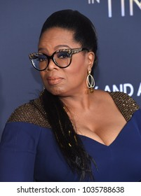 """LOS ANGELES - FEB 26:  Oprah Winfrey arrives for the """"A Wrinkle In Time"""" World Premiere on February 26, 2018 in Hollywood, CA"""