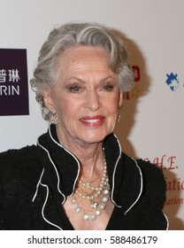 LOS ANGELES - FEB 26:  Tippi Hedren at the Style Hollywood Oscar Viewing Dinner at Hollywood Museum on February 26, 2017 in Los Angeles, CA