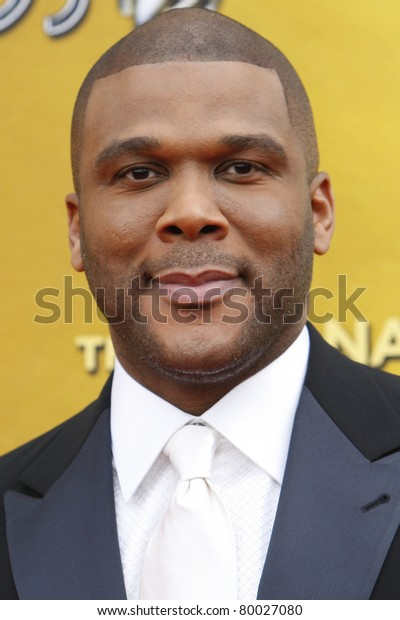 LOS ANGELES - FEB 26: Tyler Perry arriving at the 41st NAACP Image Awards - held at the Shrine Auditorium in Los Angeles, California on February 26, 2010