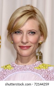 LOS ANGELES -  FEB 27: Cate Blanchett aririves in the Press Room at the 83rd Academy Awards at Kodak Theater, Hollywood & Highland on February 27, 2011 in Los Angeles, CA