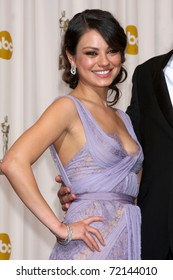 LOS ANGELES -  FEB 27: Mila Kunis arrives in the Press Room at the 83rd Academy Awards at Kodak Theater, Hollywood & Highland on February 27, 2011 in Los Angeles, CA