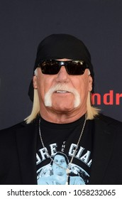 "LOS ANGELES - FEB 29:  Hulk Hogan at the ""Andre The Giant"" HBO Premiere at the Cinerama Dome on February 29, 2018 in Los Angeles, CA"