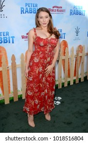 """LOS ANGELES - FEB 3:  Alexandra Vino at the """"Peter Rabbit"""" Premiere at the Pacific Theaters at The Grove on February 3, 2018 in Los Angeles, CA"""