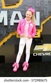 "LOS ANGELES - FEB 4:  JoJo Siwa at the ""Lego Batman Movie"" Premiere at Village Theater on February 4, 2017 in Westwood, CA"