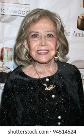 LOS ANGELES - FEB 4:  June Foray arrives at the 39th Annual Annie Awards at Royce Hall at UCLA on February 4, 2012 in Westwood, CA