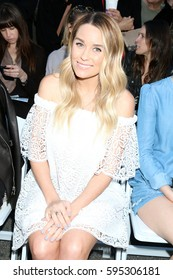 """LOS ANGELES - FEB 4:  Lauren Conrad at the Rebecca Minkoff's """"See Now, Buy Now"""" Fashion Show at Grove on February 4, 2017 in Los Angeles, CA"""