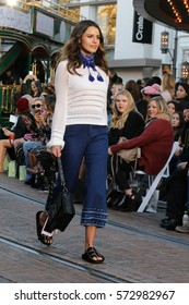 """LOS ANGELES - FEB 4:  Models walk the """"runway"""" at the Rebecca Minkoff's """"See Now, Buy Now"""" Fashion Show at Grove on February 4, 2017 in Los Angeles, CA"""