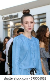 """LOS ANGELES - FEB 4:  Taissa Farmiga at the Rebecca Minkoff's """"See Now, Buy Now"""" Fashion Show at Grove on February 4, 2017 in Los Angeles, CA"""