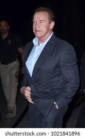 """LOS ANGELES - FEB 5:  Arnold Schwarzenegger at the """"The 15:17 To Paris"""" World Premiere at the Warner Brothers Studio on February 5, 2018 in Burbank, CA"""