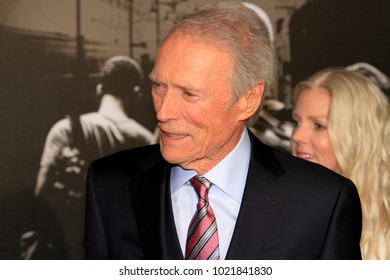 """LOS ANGELES - FEB 5:  Clint Eastwood at the """"The 15:17 To Paris"""" World Premiere at the Warner Brothers Studio on February 5, 2018 in Burbank, CA"""
